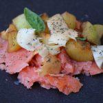 Ricetta salmone affumicato e scamorza