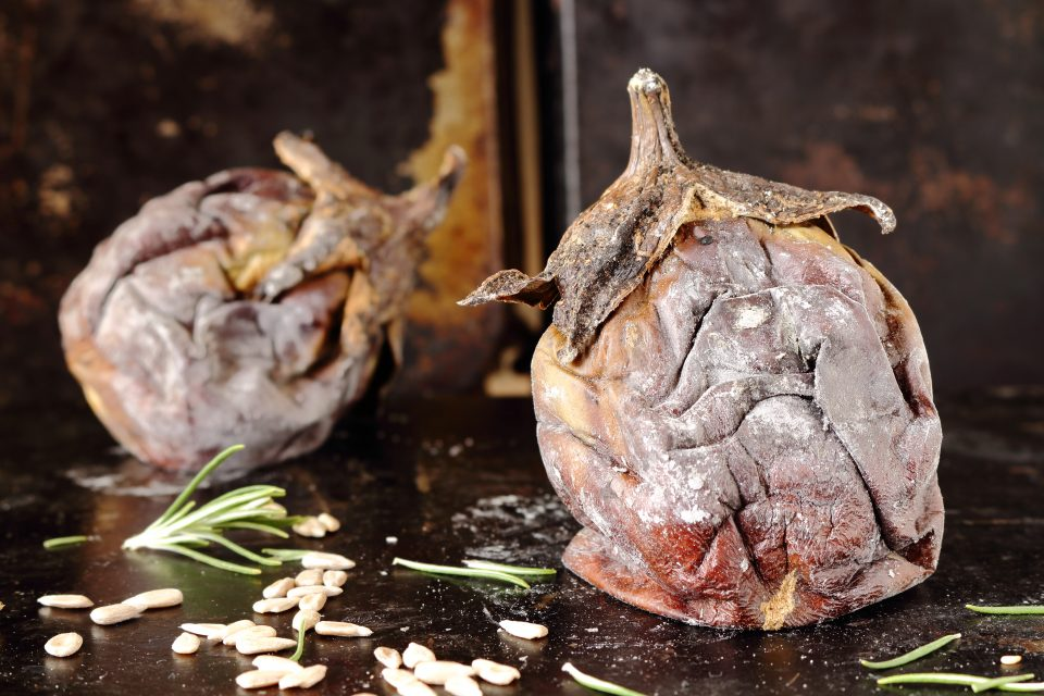 melanzane arrostite al forno
