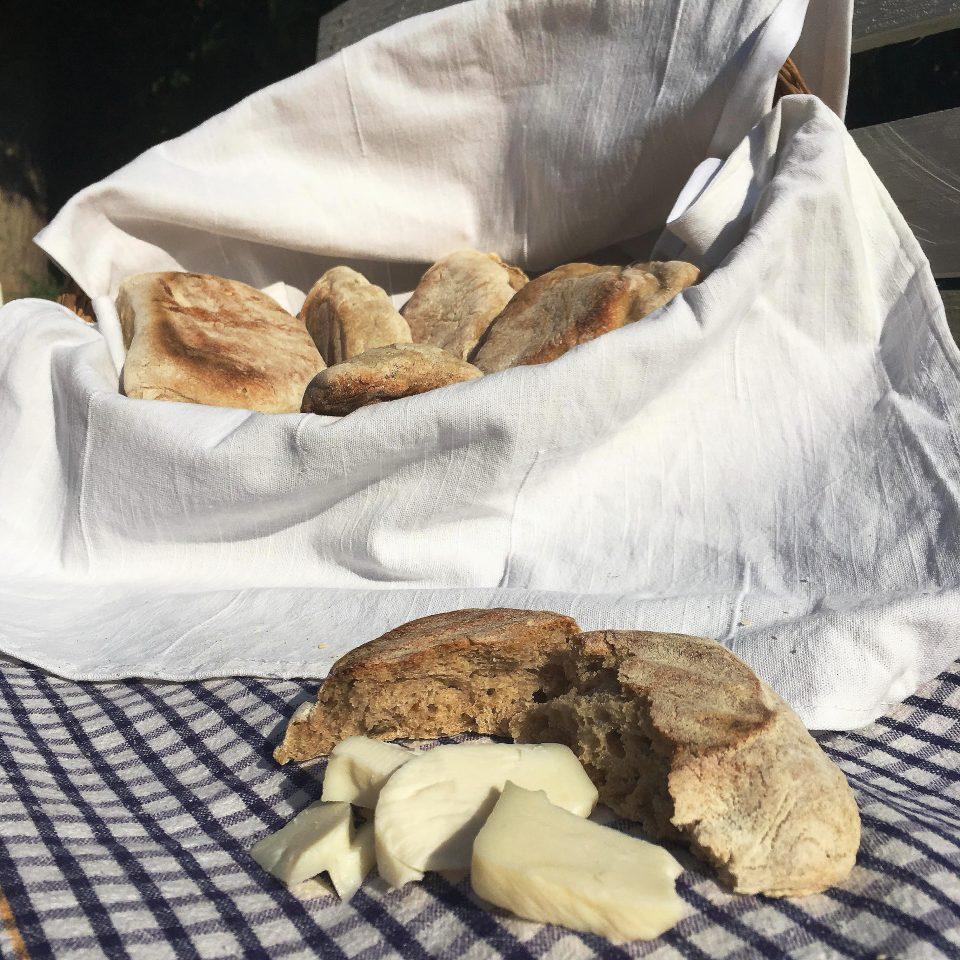 pane arabo fatto in casa ricetta