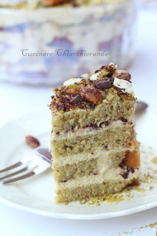 torta pistacchio e mascarpone