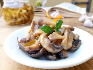 ricetta funghi sott'olio