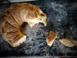pane con il sesamo fato in casa