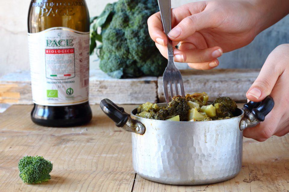 broccolo affogto ricetta siciliana