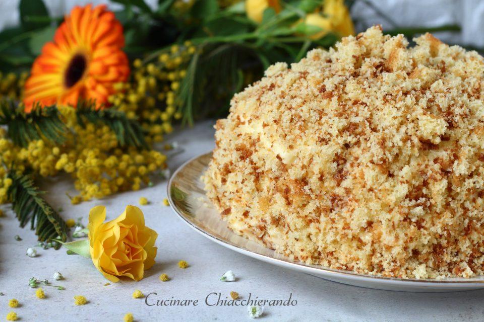 Torta mimosa ricetta festa delle donne