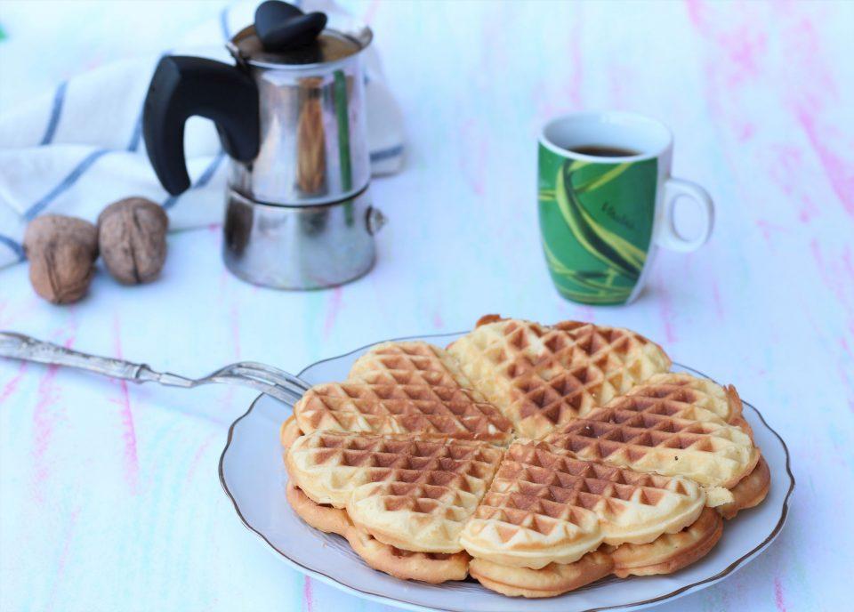 waffle ricetta dolce belga