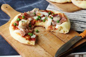 pizza sfiziosa fatta in casa