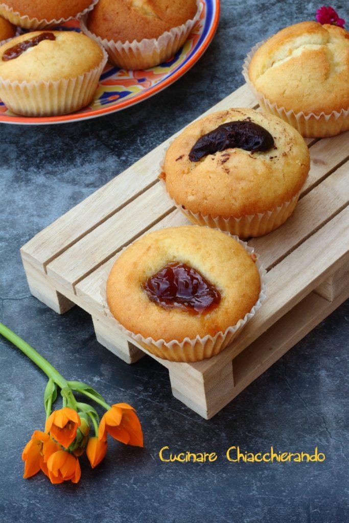 ricetta muffin nutella